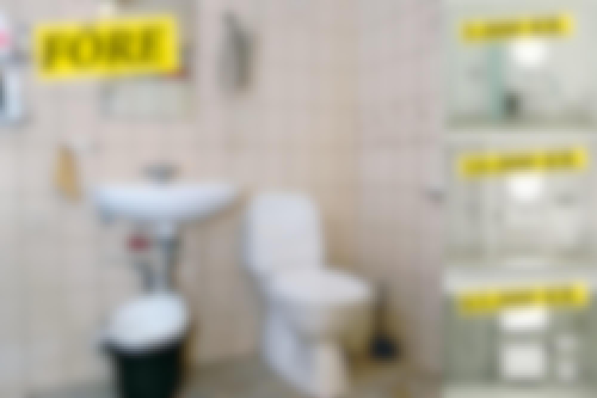 Nytt badrum - tre budgets