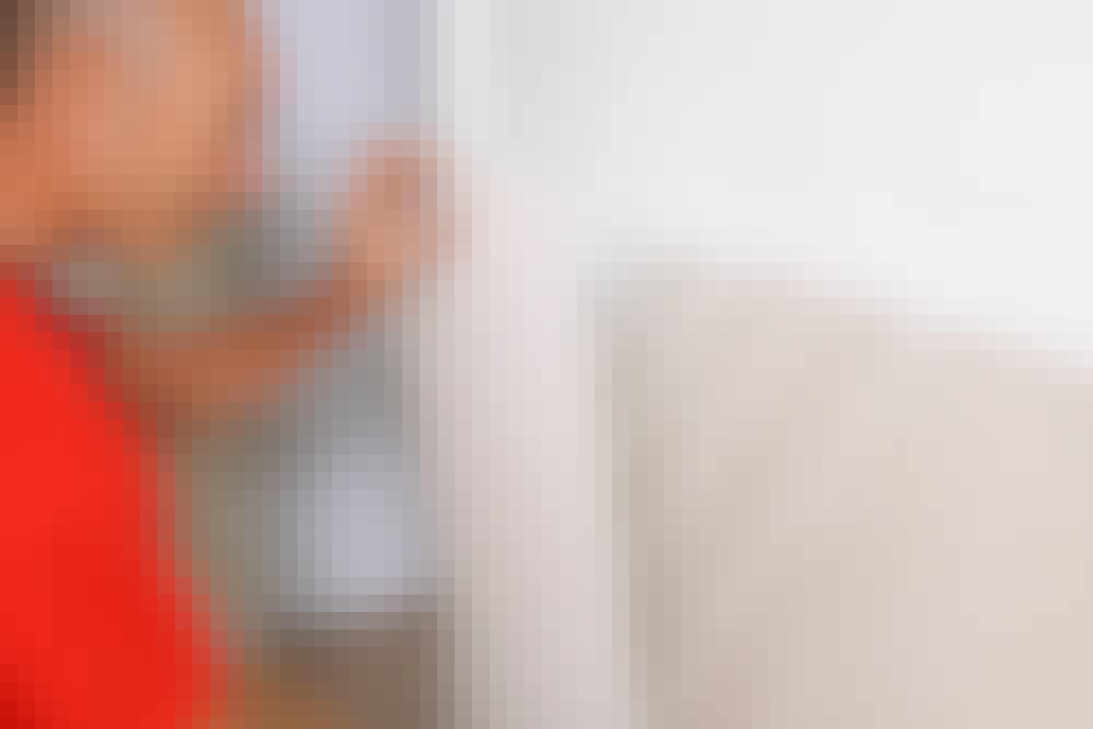 Monteringslim: Panel och lister kan med fördel limmas upp med montagelim