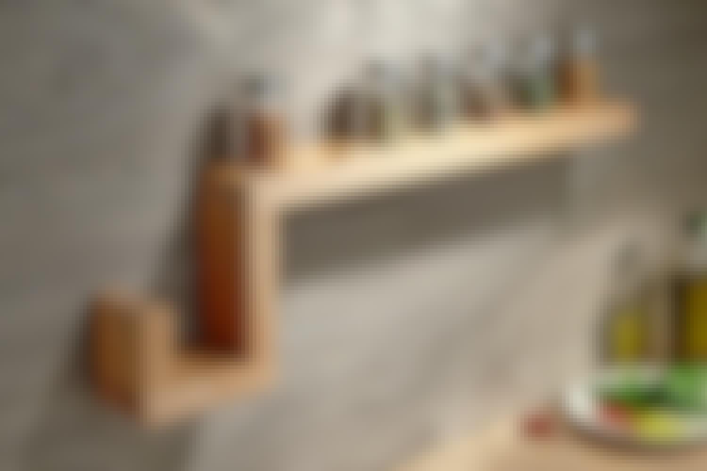Krydderihylde - Byg af dine rester