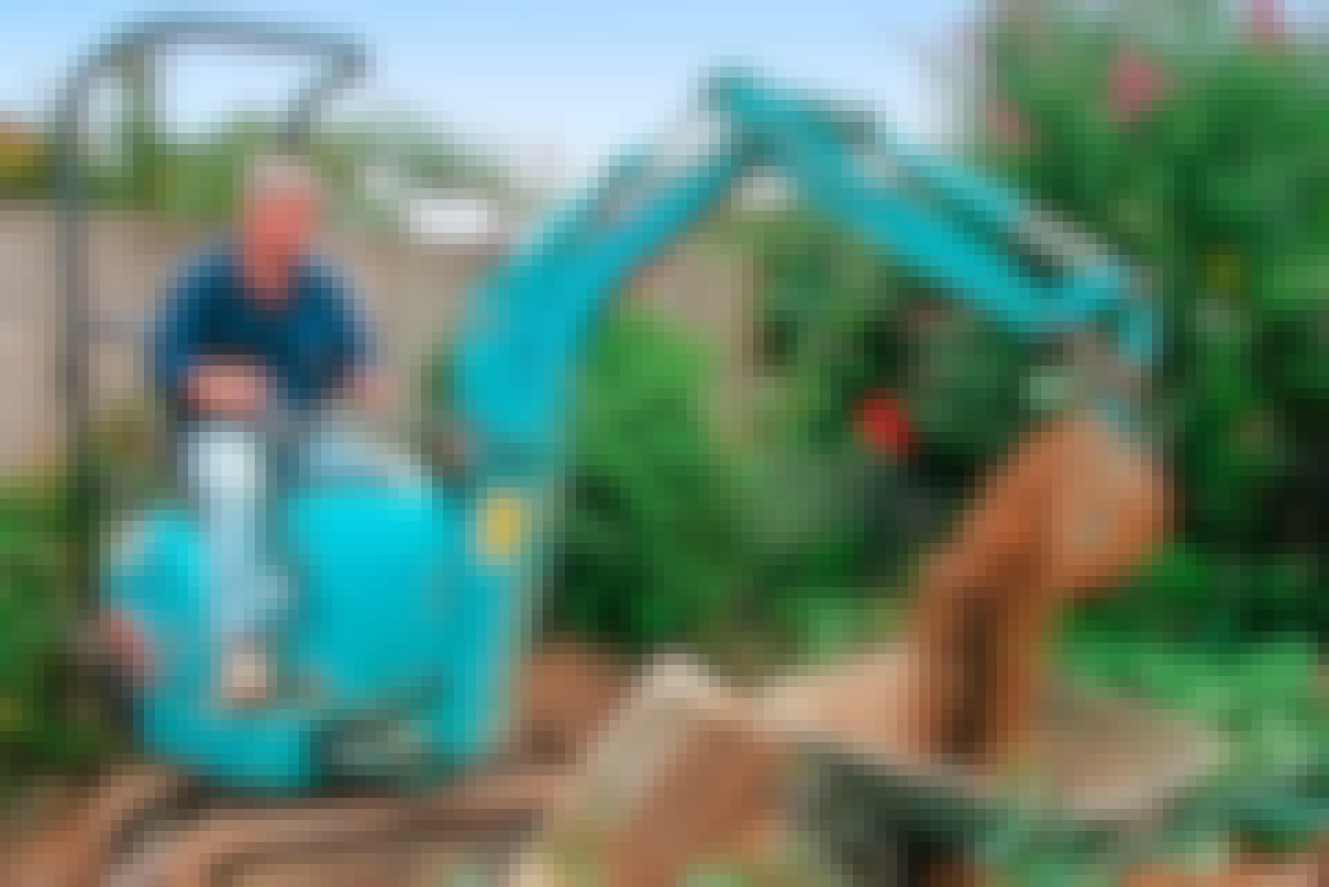Spara in en massa tid och krafter genom att hyra rätt utrustning till de stora, tunga projekten.