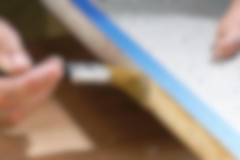 Voiko laminaattilevyn reunan korjata?