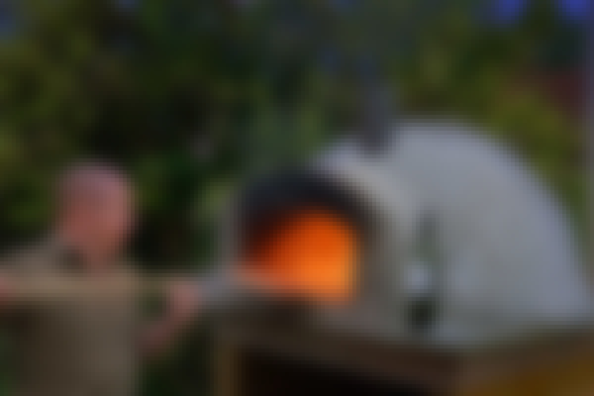 Pizzaovn: Bygg en pizzaovn på en helg