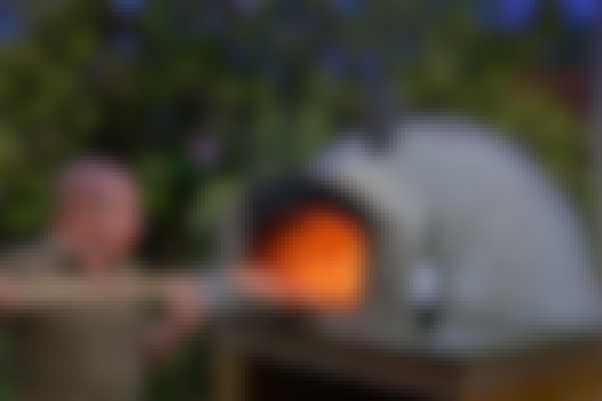 Pizzaugn: Bygg en pizzaugn på en helg