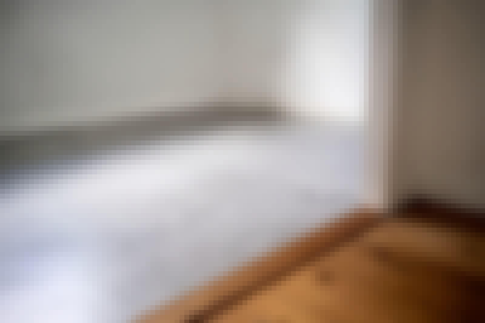Mikrosement gulv: Mikrosementen er særlig populær til gulv