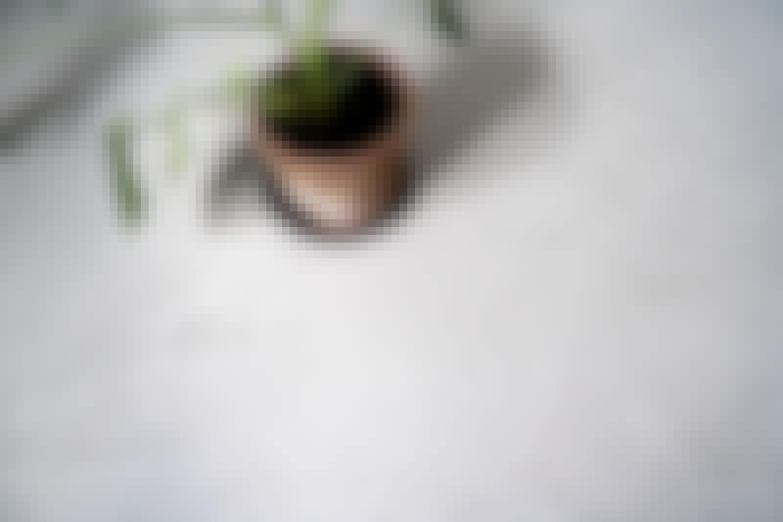 Microcement färger: Här ses microcementen i den klassiska grå färgen