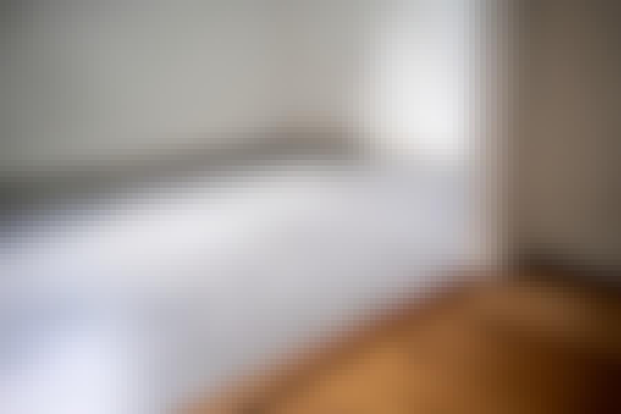 Mikrosementtilattia: Mikrosementtiä käytetään etenkin lattioissa.