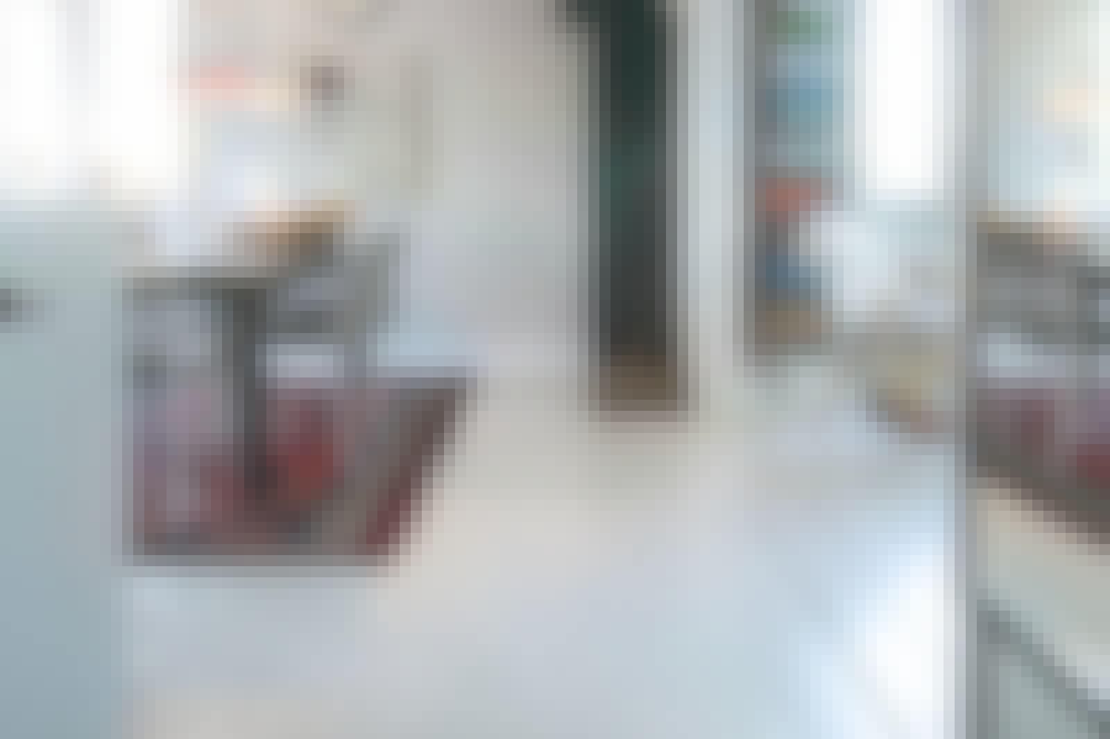 Epoxy gulv i køkkenet