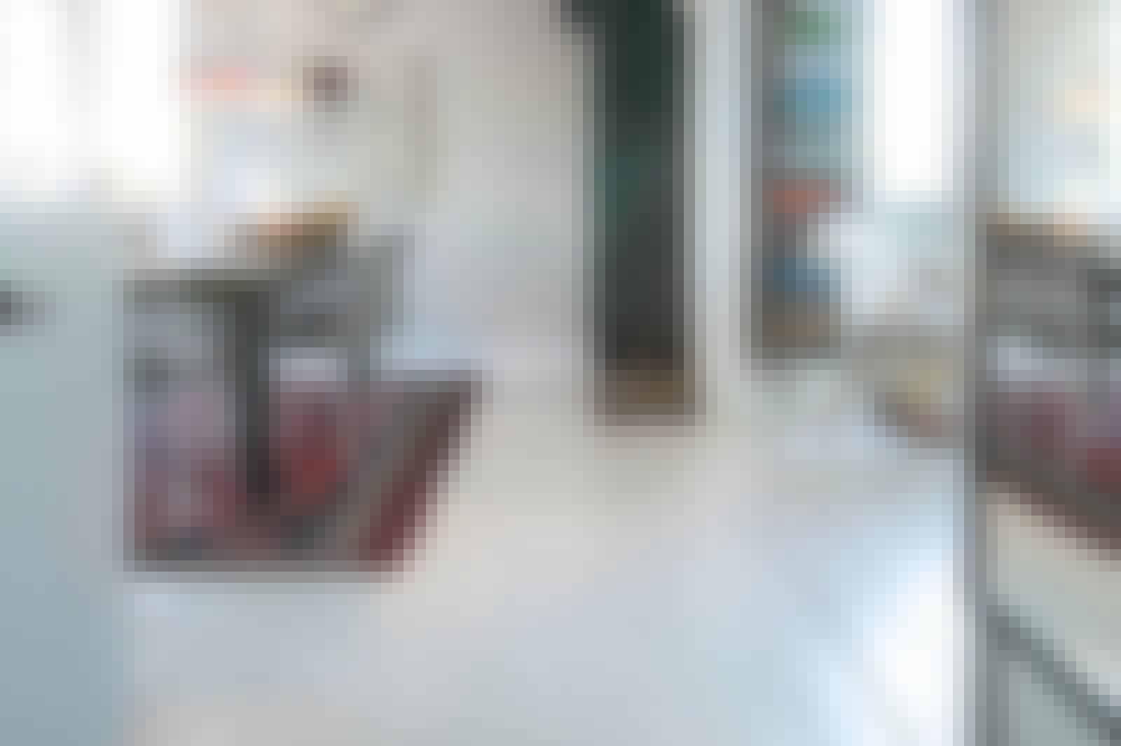 Epoxy gulv i kjøkkenet