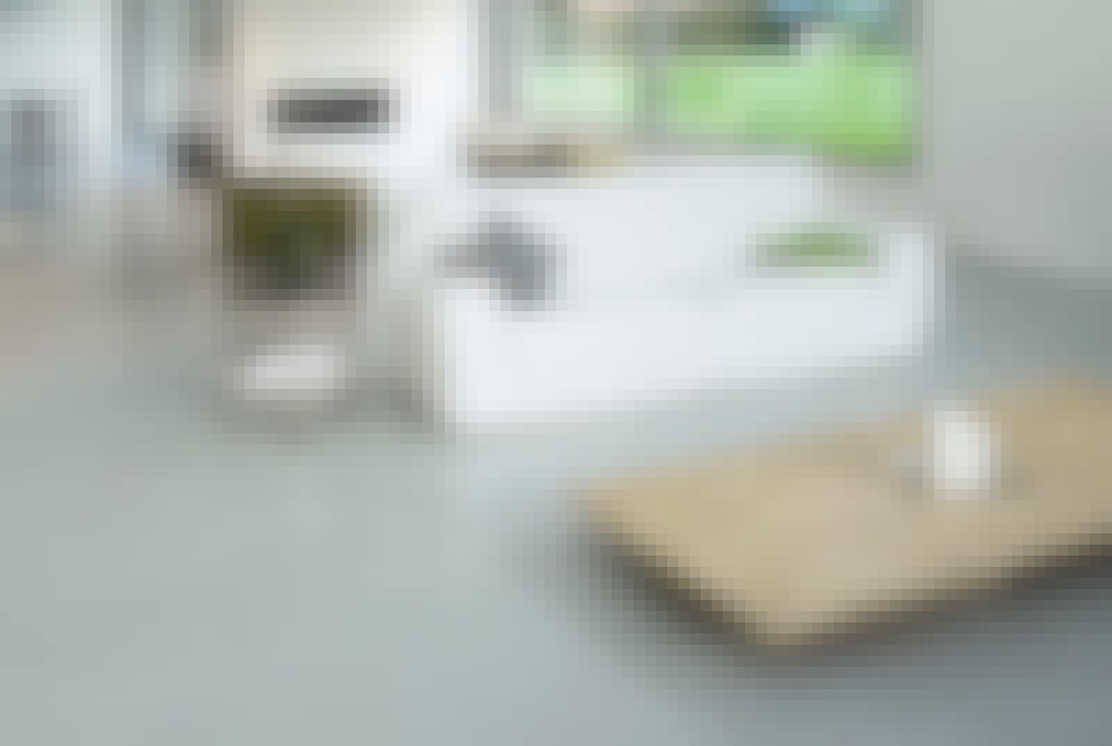 Epoxy gulv i stua
