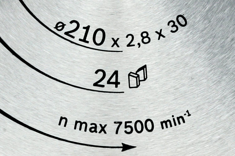 0dce766a73c RUNDSAVSKLINGE: STØRRELSE Savens omdrejningstal er tilpasset savklingens  størrelse, og derfor skal klingens diameter være den samme, som er stemplet  på din ...