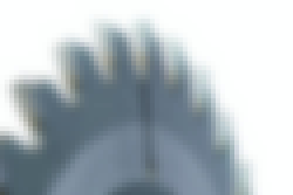 SIRKKELIN TERÄT: STANDARDI: NELJÄ YLEISINTÄ SIRKKELINTERÄÄ