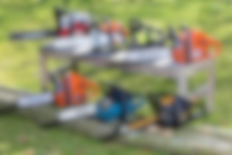Motorsåg test: Här är marknadens bästa motorsåg