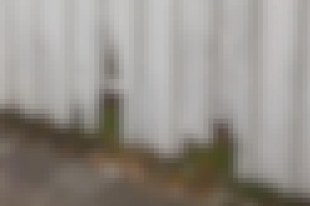 Hegn: Red hegnstræet med tværbræt