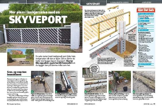 Skyveport: Få mer plass i innkjørselen