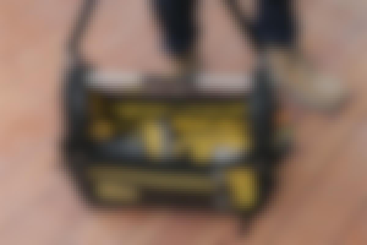Verktygsväska: Här är ett exempel på en verktygsväska från Stanley