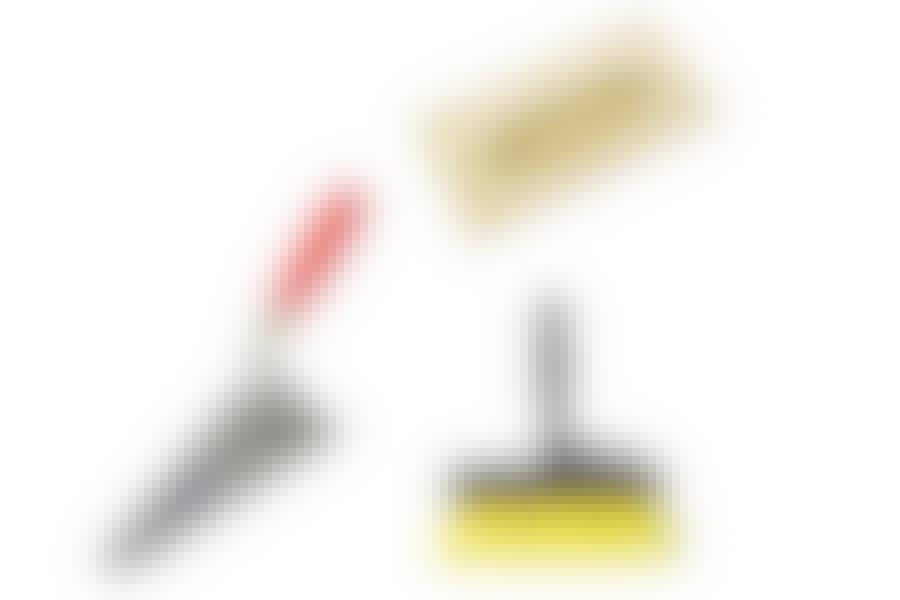 Reparasjon av sokkelhjørne: Verktøy