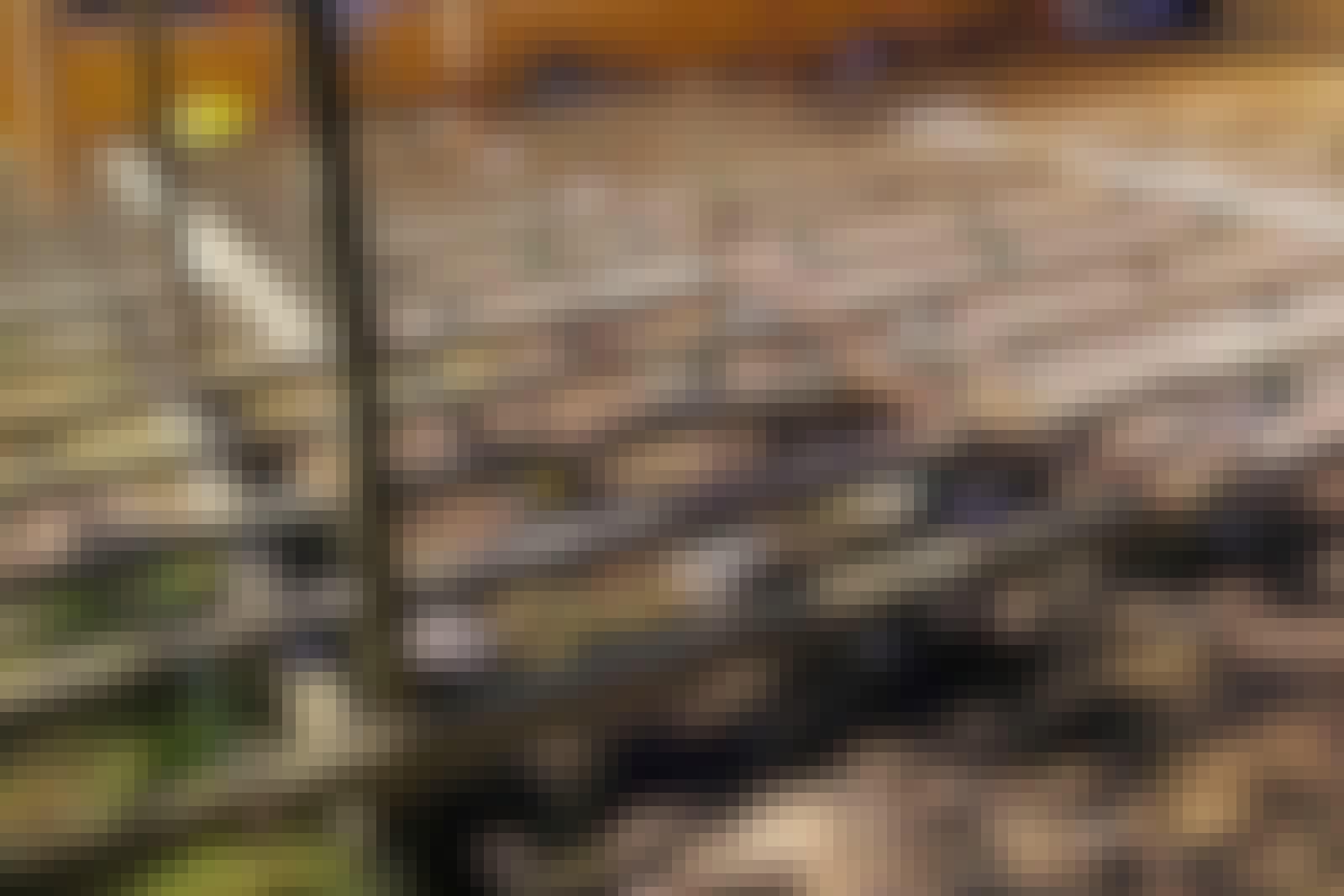 Bygga altan: Snåla på stolparna
