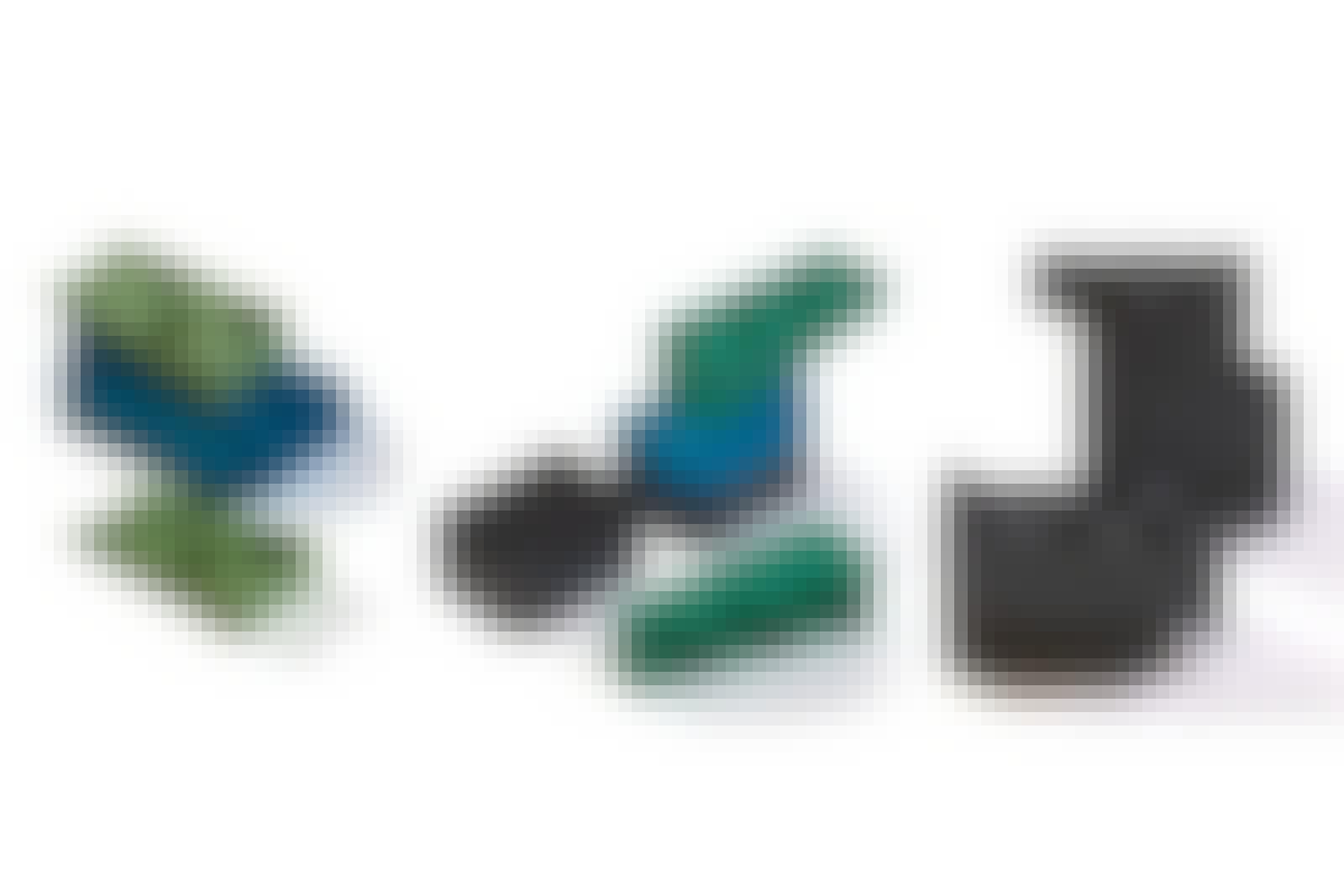 Træterrasse konstruktion: Klods op med kiler af plastik til træterrassen
