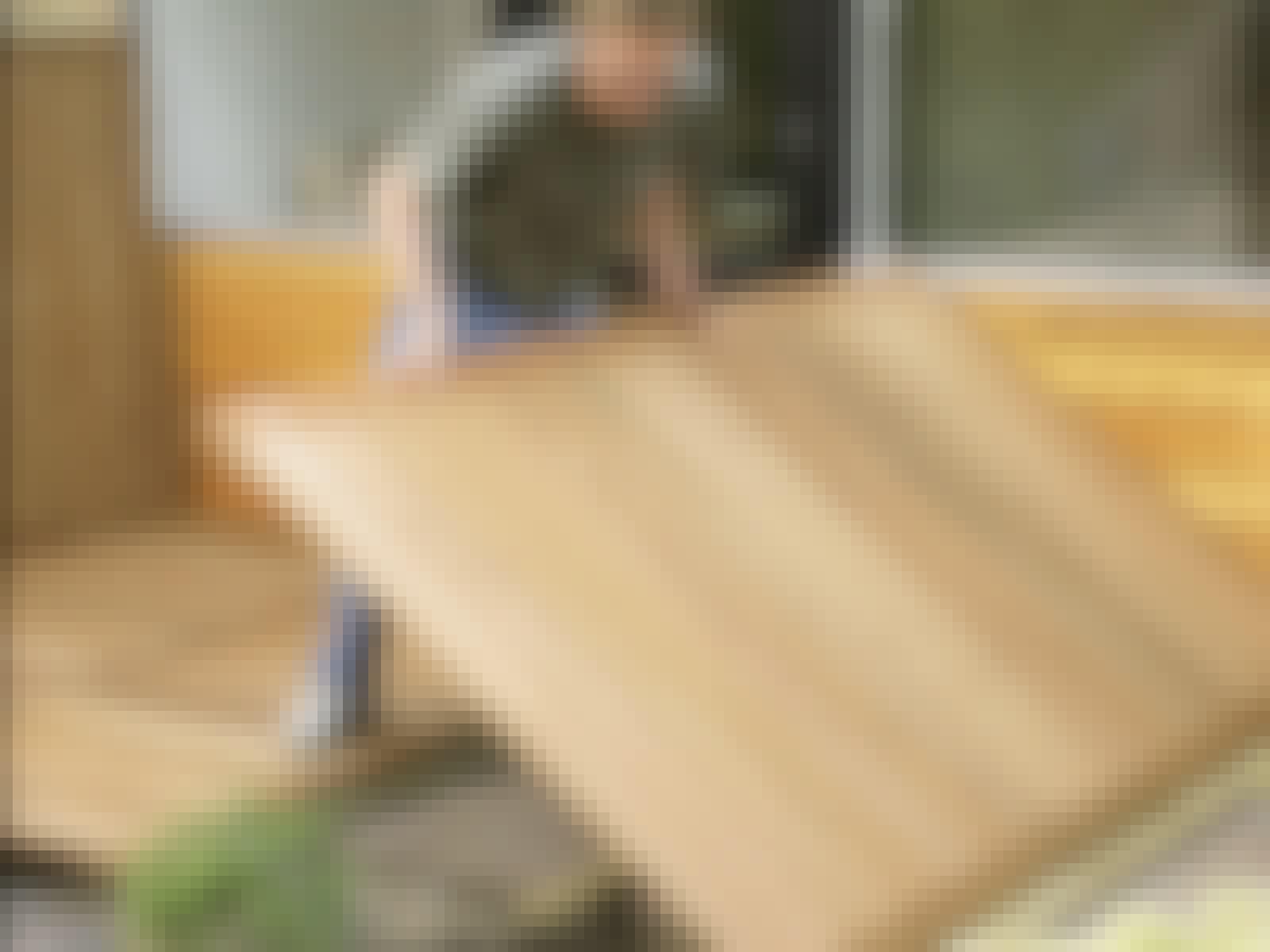 Bygga trädäck på plattor: Altan i moduler