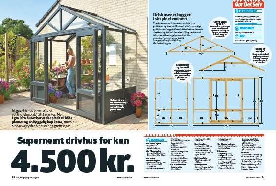 Gavldrivhus: Sådan bygger du et gavldrivhus