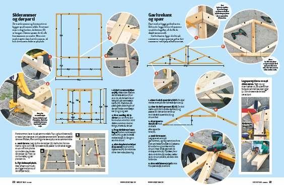 Byg et gavl drivhus
