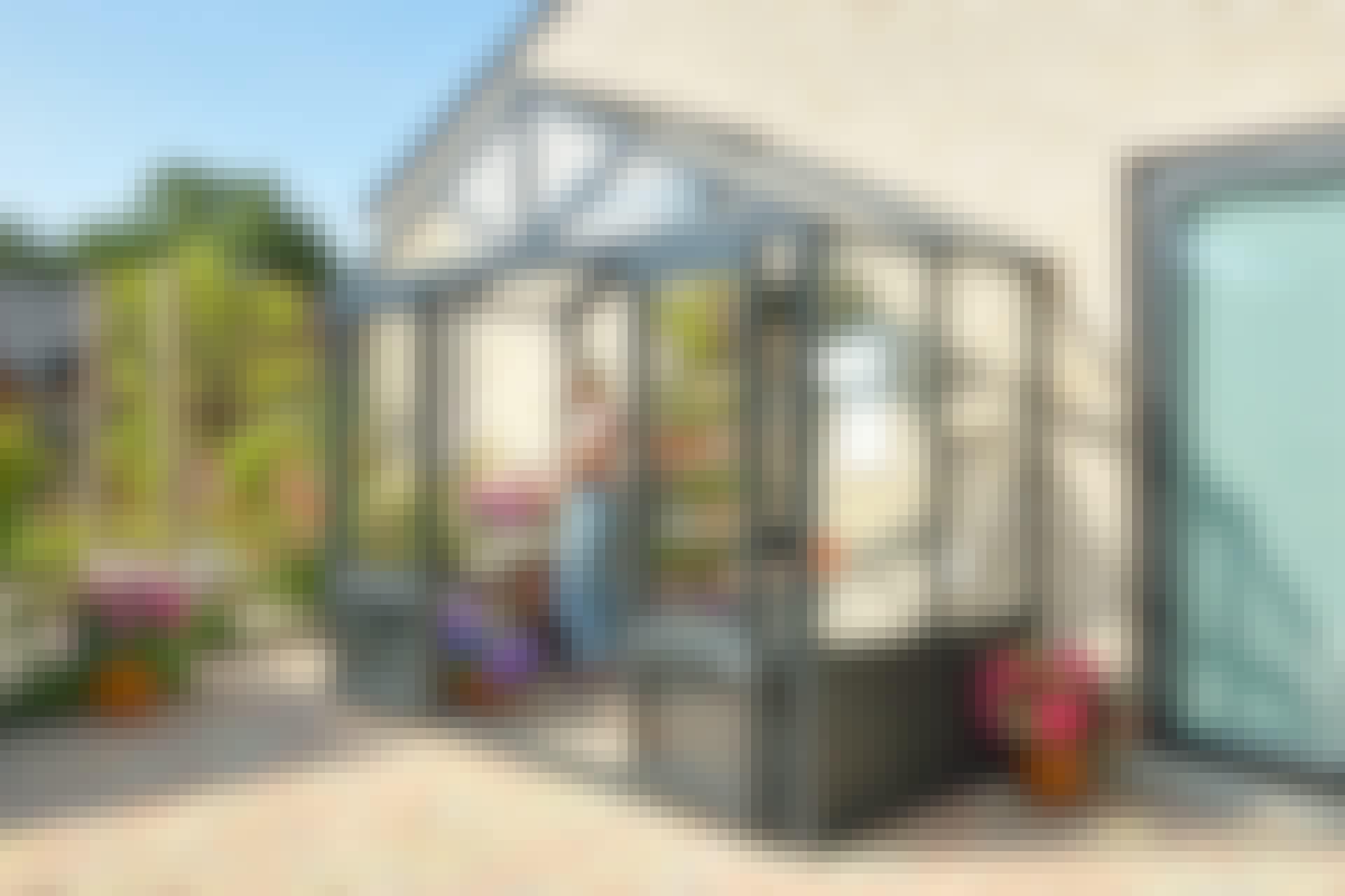 Gavelväxthus: Så bygger du ett gavelväxthus