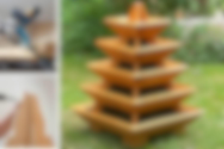 Plantepyramide: Sådan bygger du den