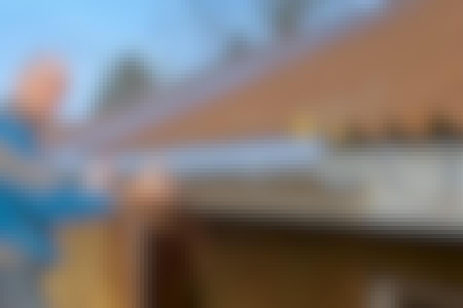 Byt takrännan: Så lätt är det!