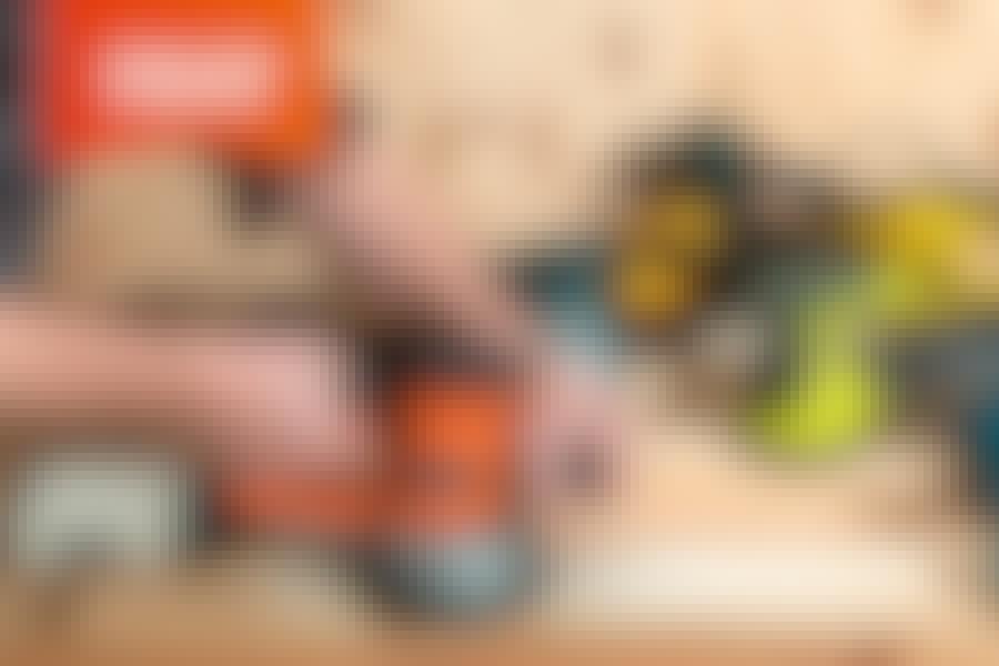 Eksentersliper: Vi tester 7 eksenterslipere med ledning