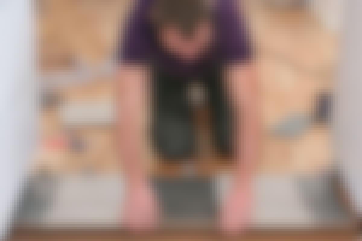 Klik dig til et nyt gulv af linoleum