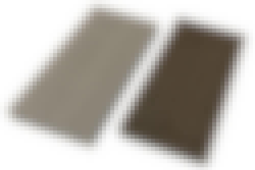 Kompositt terrassebord: Kompositt terrassebord med hul kjerne eller rillet overflate