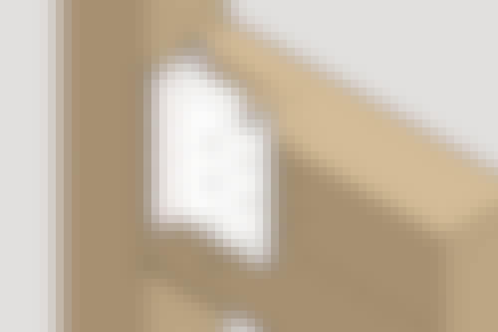 Varianter af bjælkesko: Skjult bjælkebærer