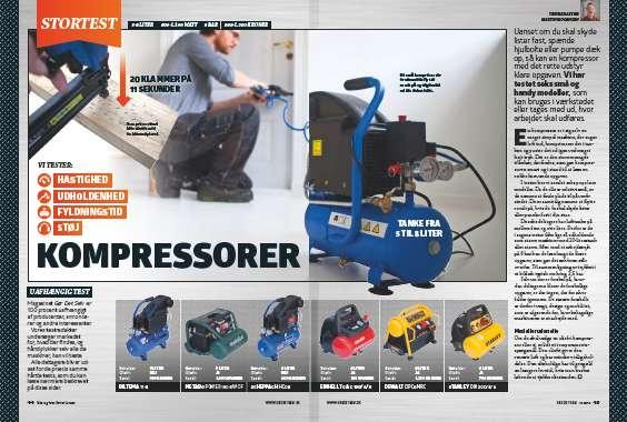 Kompressor test: Vi tester 6 populære kompressorer i vores kompressor test