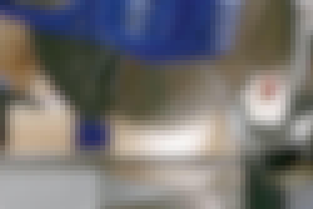 Kap geringssav: Savedybden indstilles som regel på en fingerskrue på saven