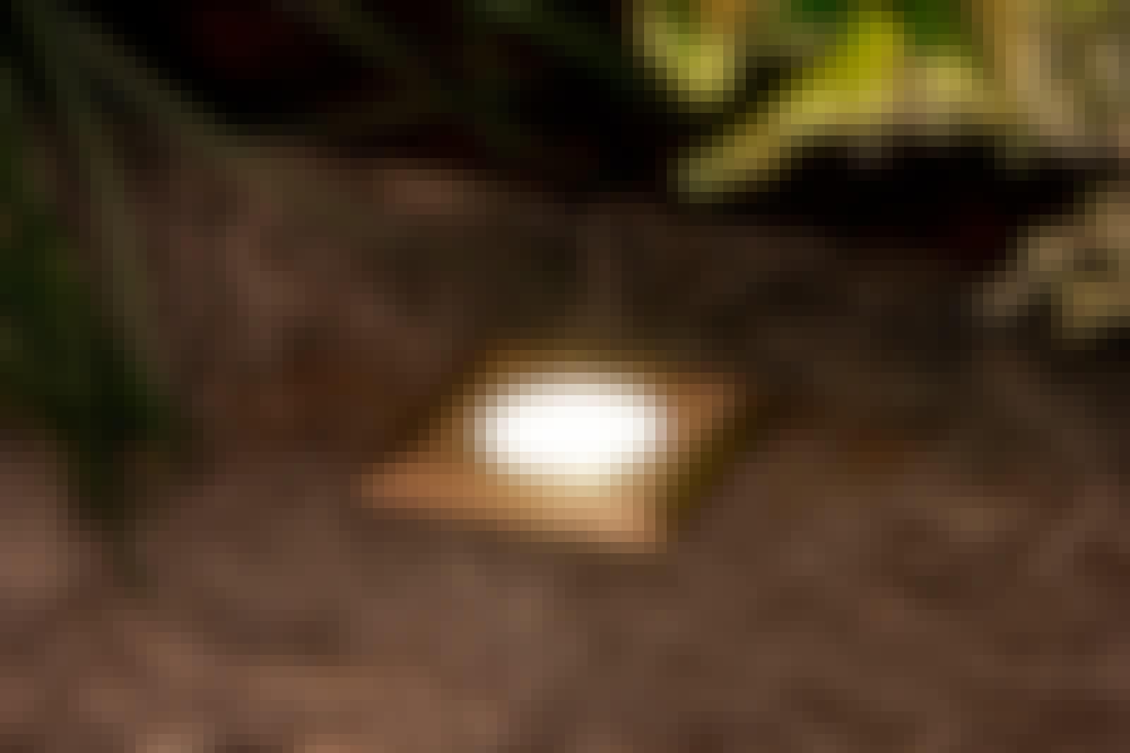 Udendørslamper: Atria. Kvadratiske LED nedbygningsspot
