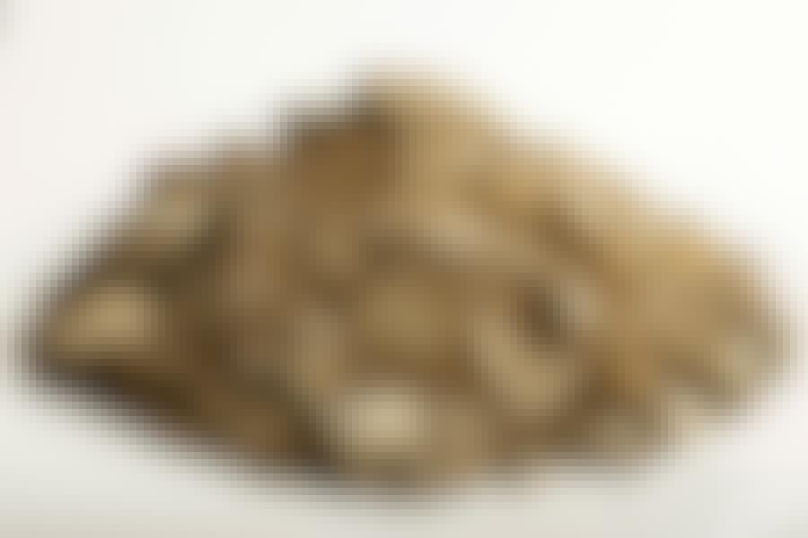 Murske: Murskeen seassa on enemmän tai vähemmän hiekkaa.