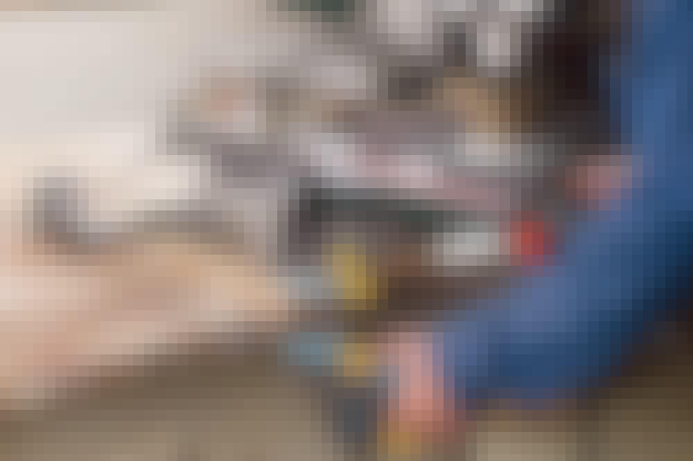 Kapp og gjærsag: Sett fast kapp og gjærsagen