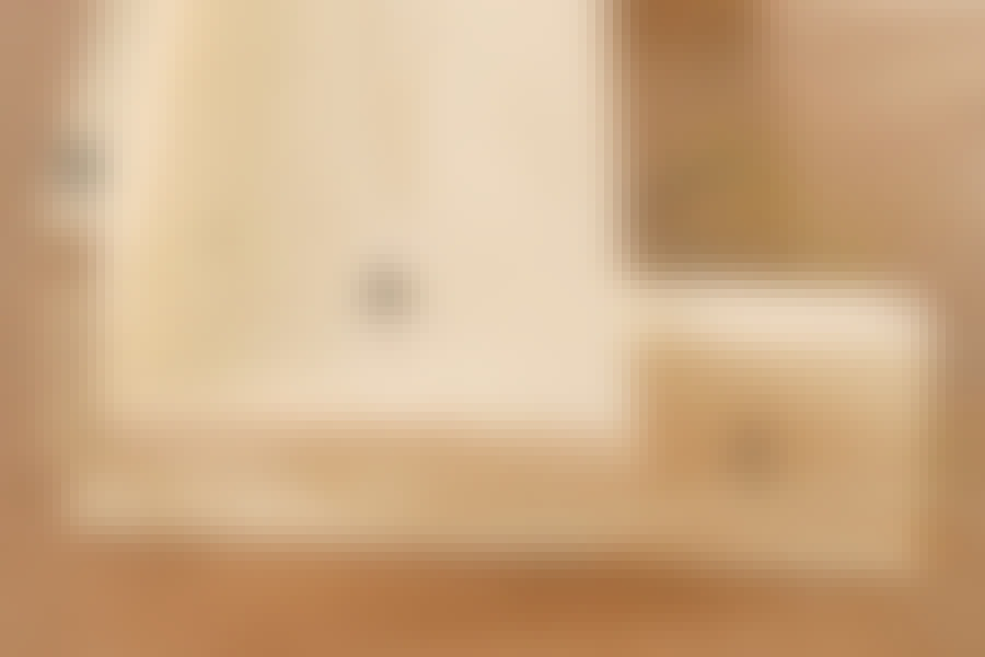 Kapp og gjærsag: Lag et langt arbeidsbord til kapp og gjærsagen
