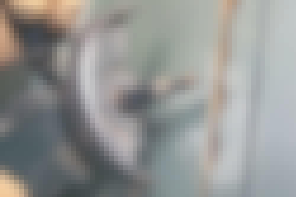Skær riller i mur med vinkelsliber: Korte riller med vinkelsliber