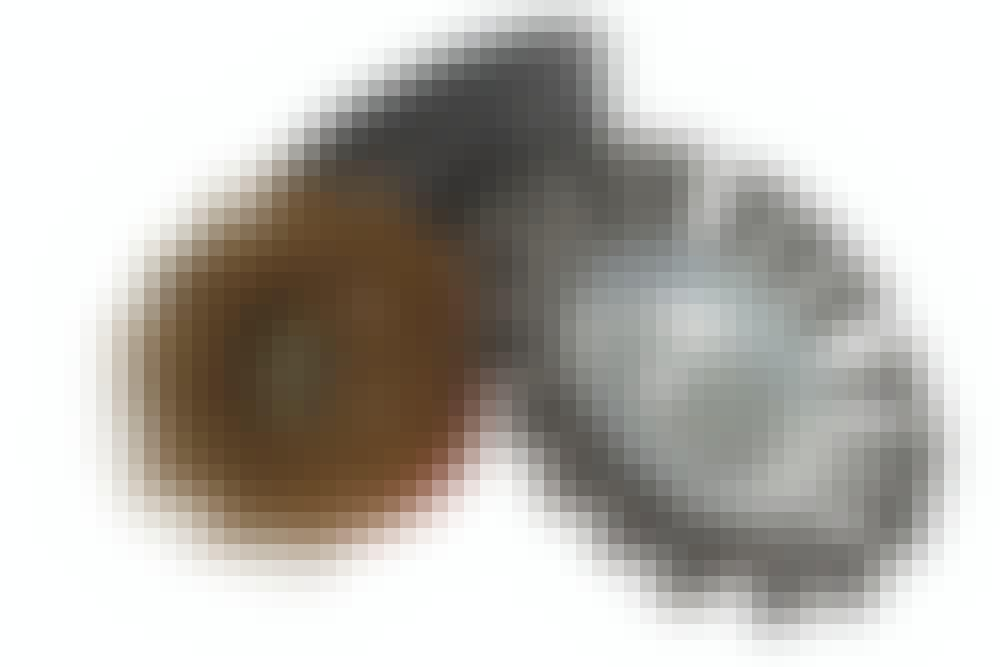Slibeskiver til vinkelsliber: Keglebørste/stålbørste