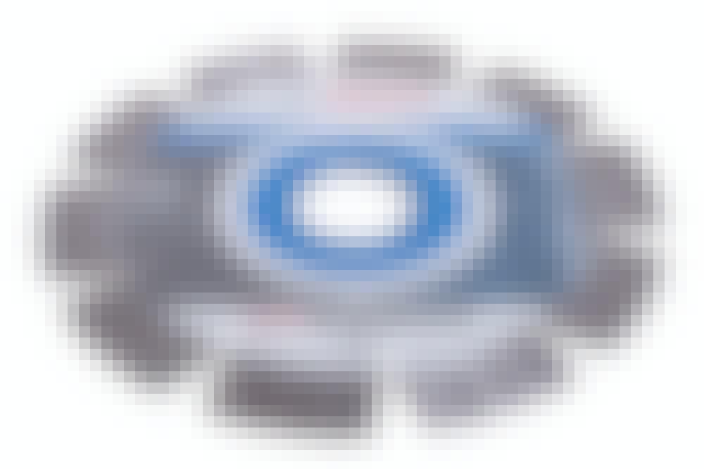 Kap- och slipskivor till vinkelslipen: Diamantskiva för hård sten