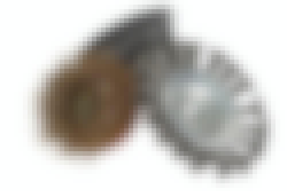 Kulmahiomakone: Kartioharja/teräsharja
