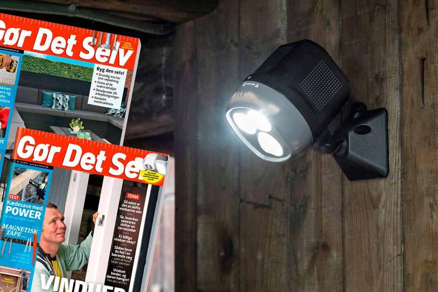 Effektiv udendørs belysning for kun 99 kroner | Gør Det Selv