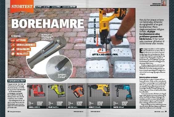 Borehammer test: Vi tester 5 stærke borehamre