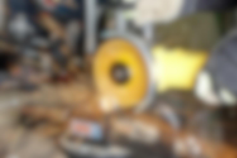 Vinkelslip test: Vi testar 8 vinkelslipar med sladd