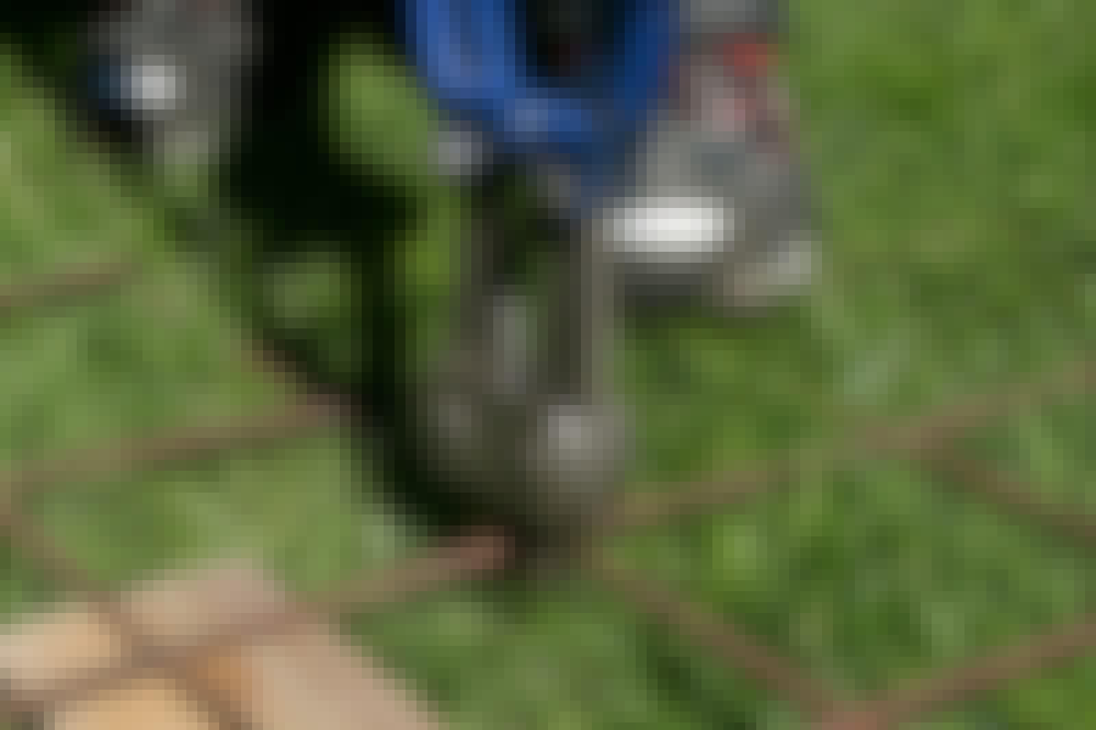 Armeringsnett: Boltsaksen er det beste redskapet til å klippe armeringsnett.