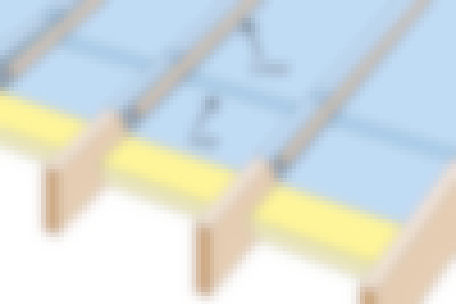 Tett dampsperre: Over sperrer