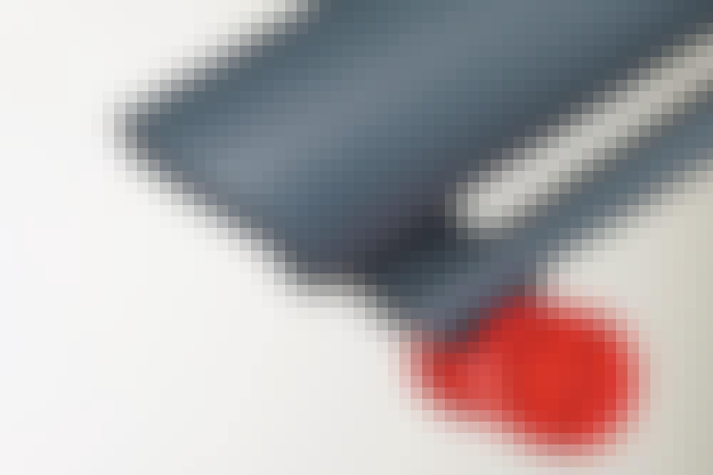 Løvsuger med smarte funktioner: Støttehjul
