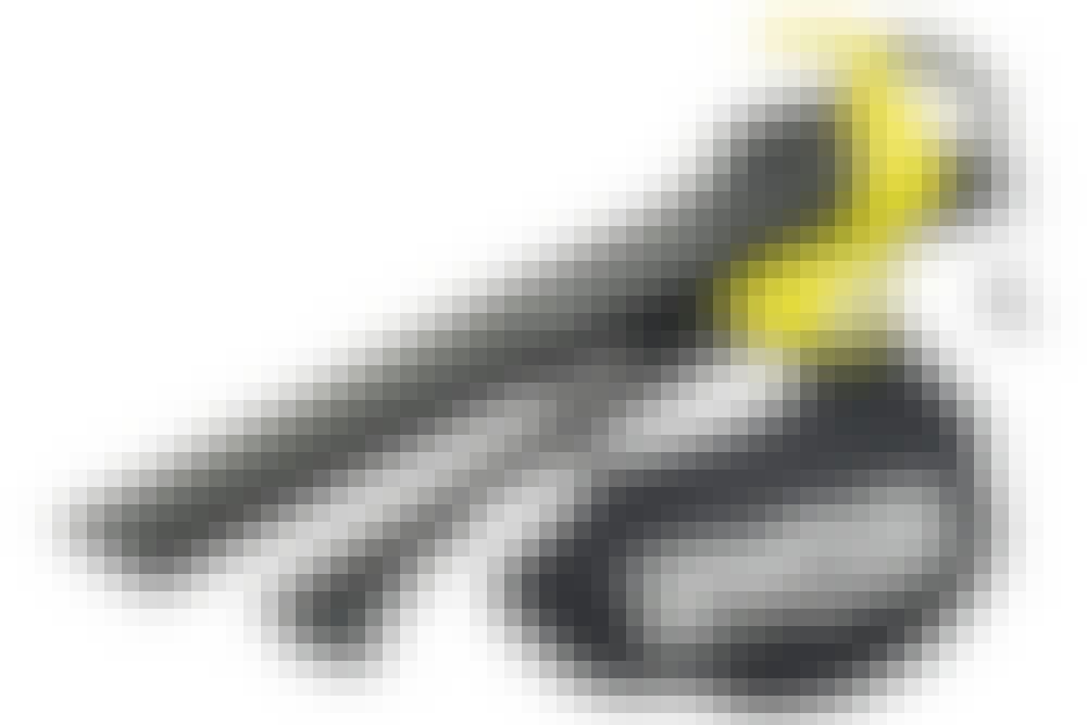 Varianter af løvsugeren: Løvsuger med støttehjul