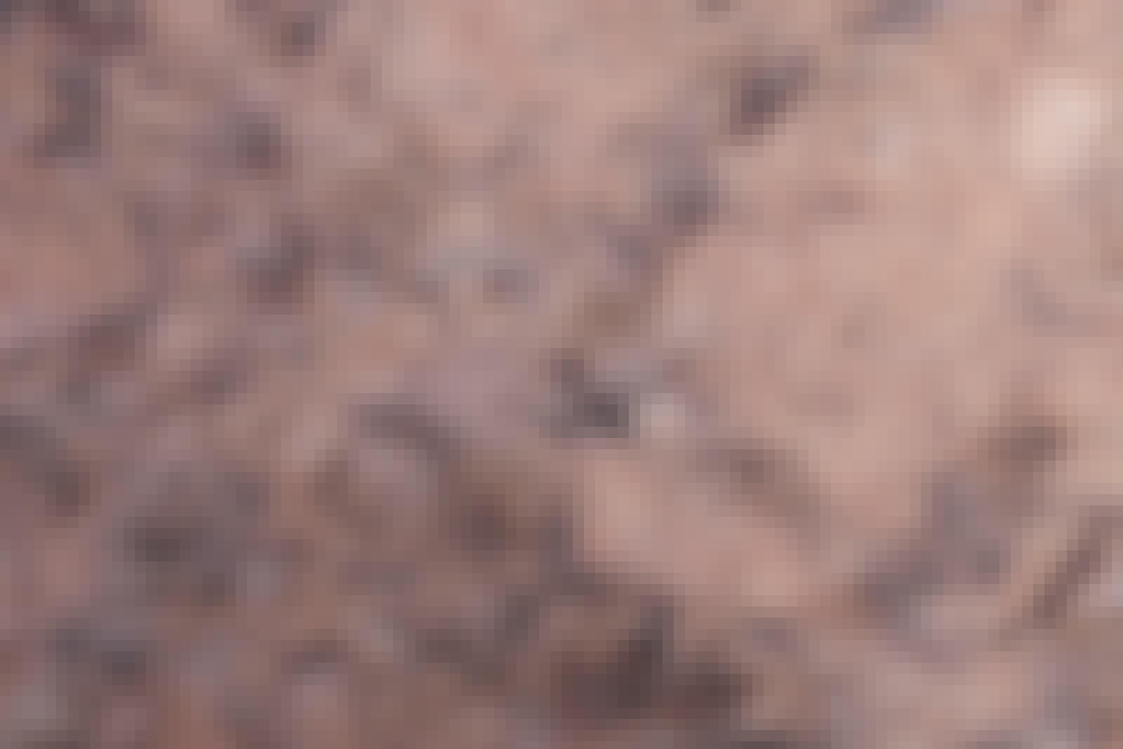 Selv om granitt kan virke usårlig, kan det faktisk både ripes opp og ta imot farge.